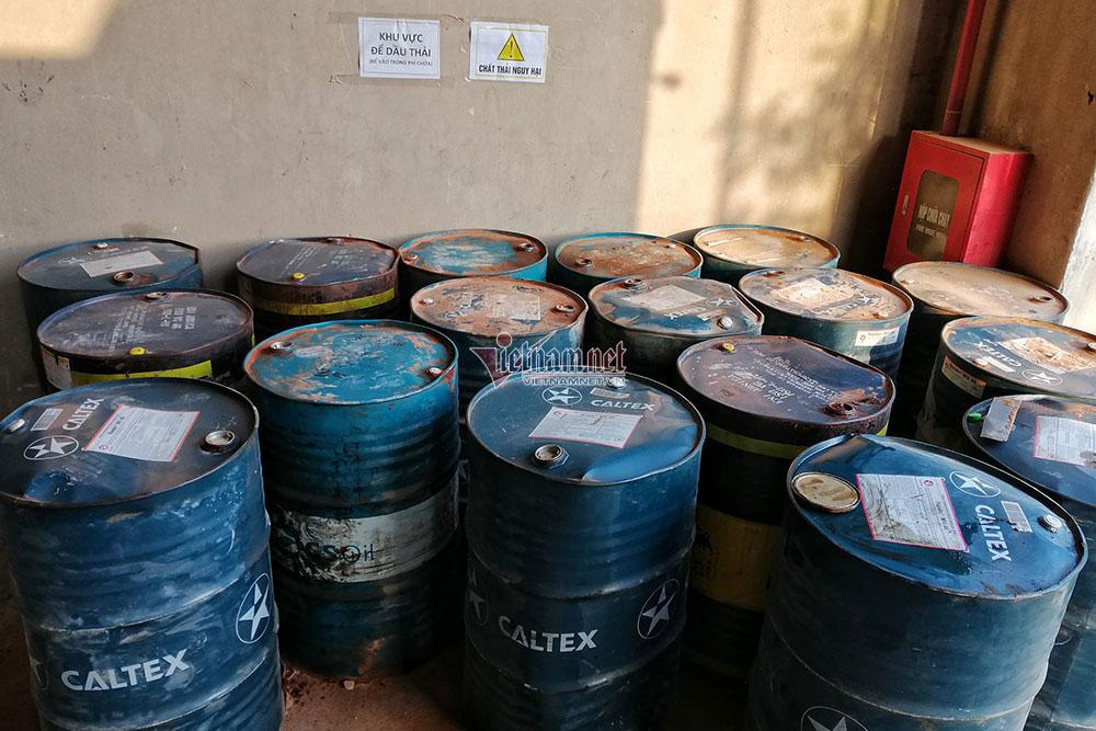 Nguyễn Thị Huyền Trang, Bất ngờ, quy trình, công ty gốm sứ, tuồn dầu thải, gây ô nhiễm nước sông Đà, Công ty cổ phần Gốm sứ Thanh Hà,
