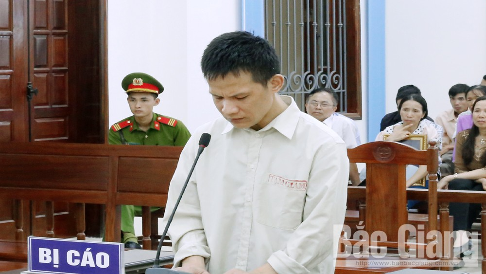 Giết người, Nguyễn Chiến Thắng, Hiệp Hòa, Bắc Giang