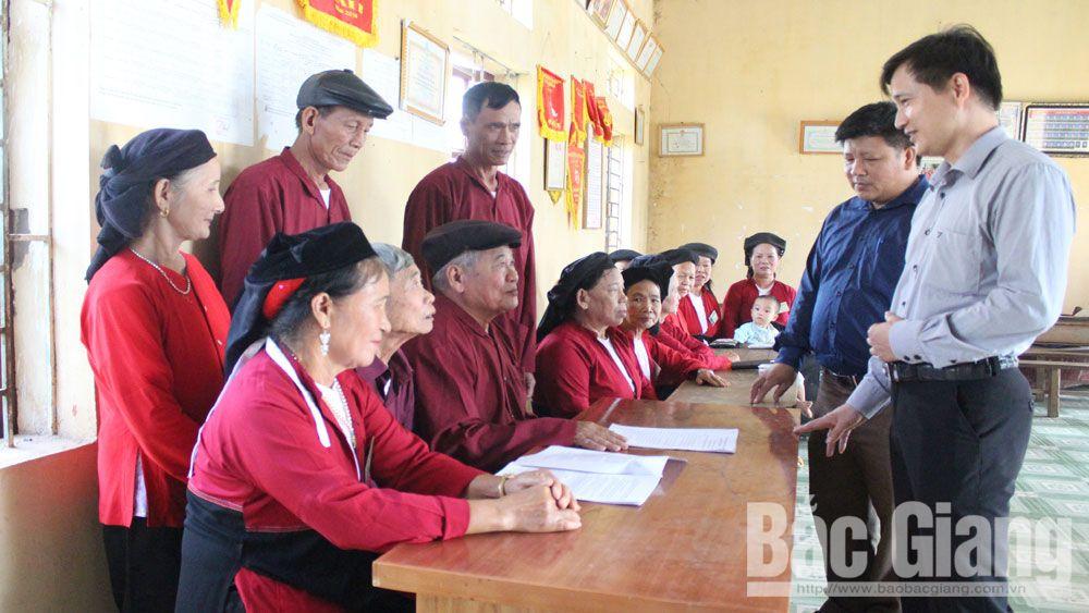 Dân vận khéo, dân vận, dân tộc thiểu số, Bắc Giang