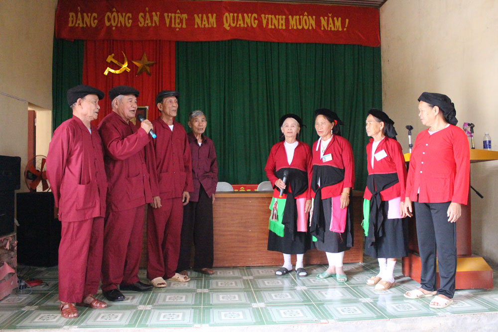 Bac  Giang province, treasure of folk songs, folk singing clubs, cultural heritage, folk song performance, cultural beauty
