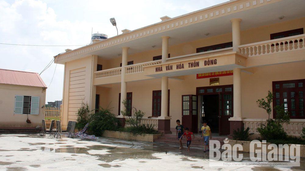 Việt Yên hoàn thành sáp nhập các thôn theo quy định