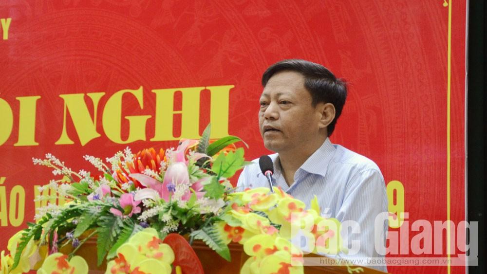 Ban Tuyên giáo Bắc Giang, thông tin định kỳ, báo cáo viên