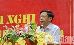 Bắc Giang: Thông tin về công tác phòng chống tham nhũng và xây dựng nông thôn mới.