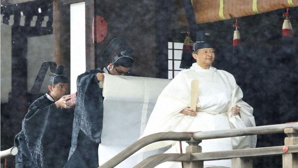 Nhật hoàng Naruhito, nghi lễ đăng quang , Hoàng hậu Masako