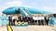 Lễ đón chiếc máy bay thứ 100 trong đội tàu bay của Vietnam Airlines