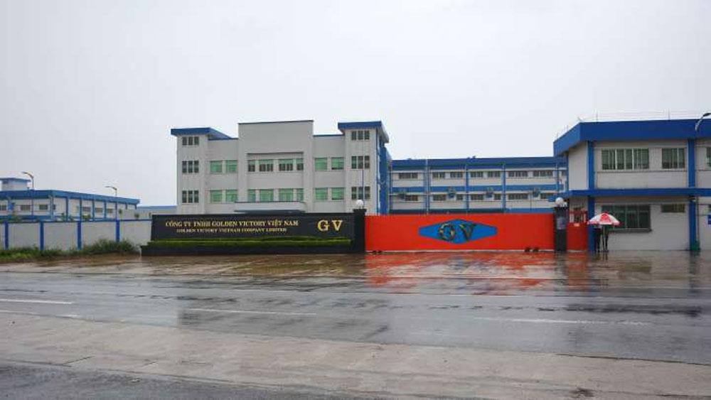 Xác định, nguyên nhân vụ ngộ độc khí, Công ty Golden Victory Việt Nam, dung môi hữu cơ cao