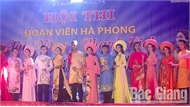 Công ty cổ phần May xuất khẩu Hà Phong thi đoàn viên công đoàn tài năng - thanh lịch