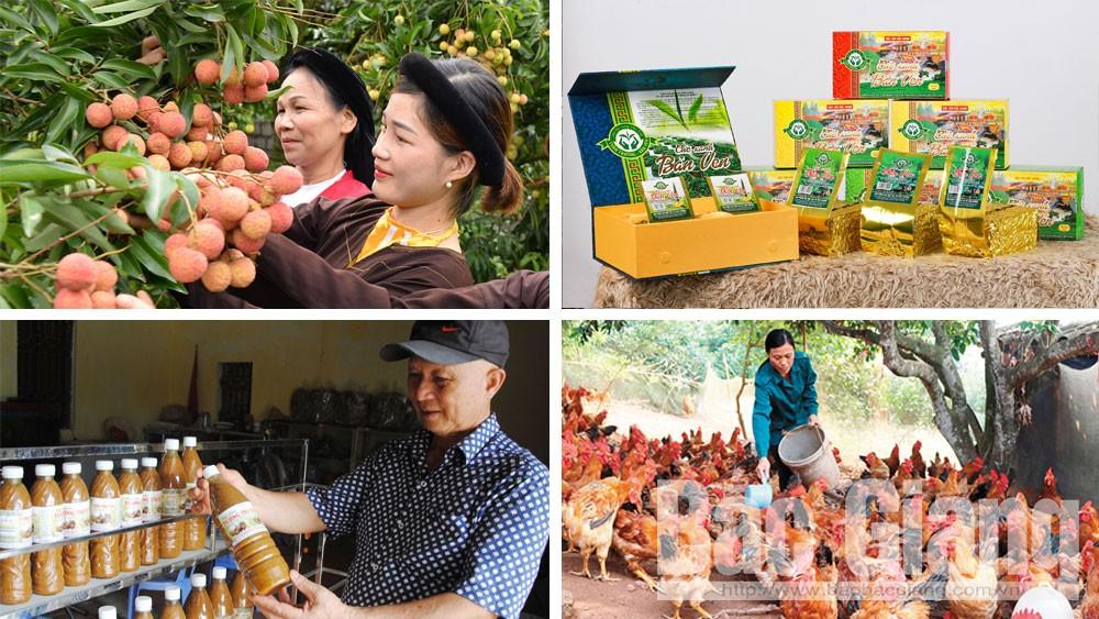Bắc Giang, sản phẩm, nông nghiệp, tiêu biểu