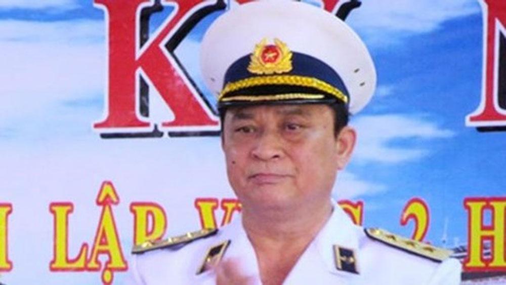 Khởi tố bị can, Đô đốc Nguyễn Văn Hiến, cựu Thứ trưởng Bộ Quốc phòng, cựu Tư lệnh Quân chủng Hải quân