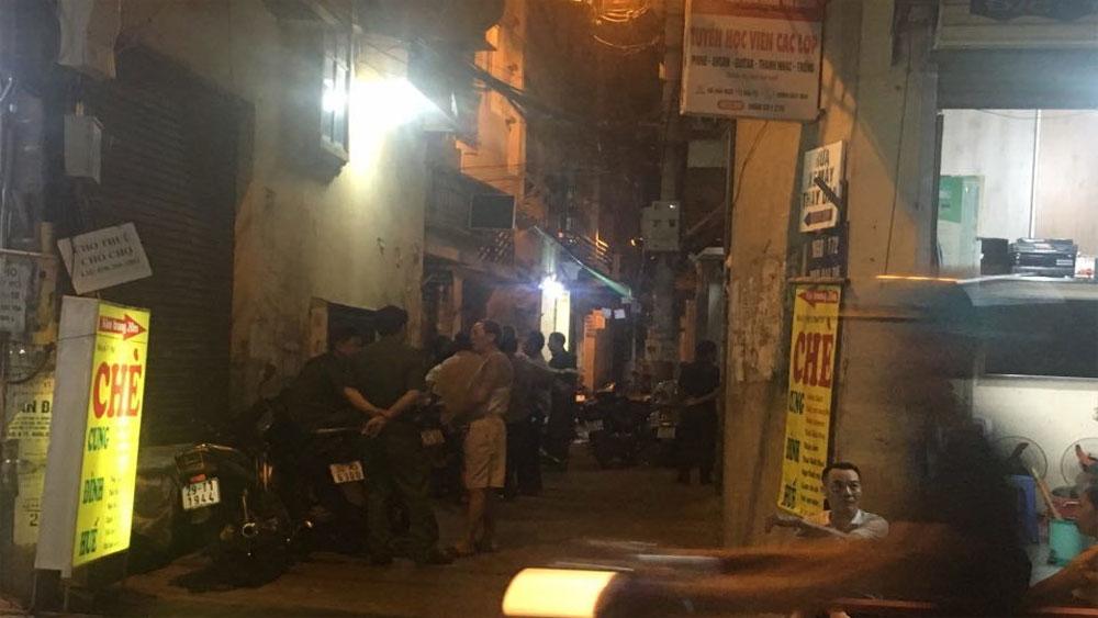 Hà Nội, hai bố con, thau rửa bể ngầm, người con trai tử vong, ông Nguyễn Viết Lập