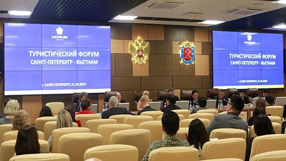 Vietnam, Russia, Saint Petersburg, tourism cooperation, leading travel enterprises, high-quality tourism products