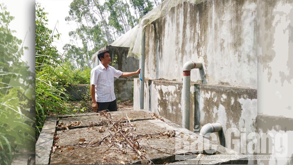 Công trình nước sạch xã Canh Nậu, nước sạch Canh Nậu, thiếu nước sạch sinh hoạt, Công ty TNHH xây dựng Hải Long