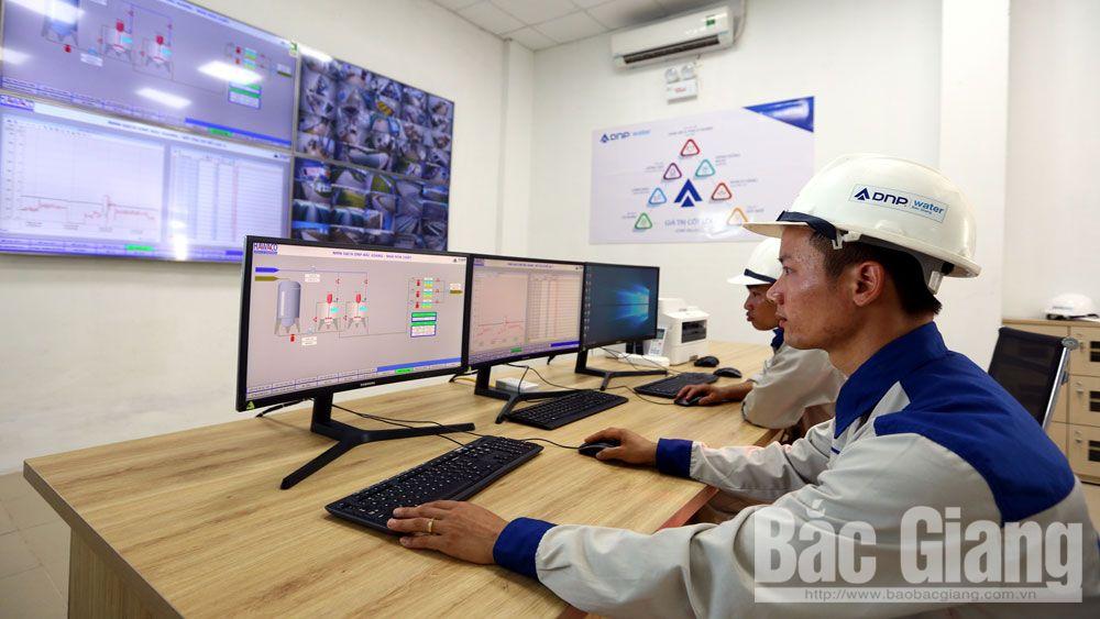 nước sạch, nước, công ty nước, Bắc Giang, Nhà máy nước sạch DNP