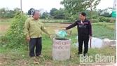 Lạng Giang (Bắc Giang) bố trí gần 890 điểm tập kết vỏ bao bì thuốc bảo vệ thực vật