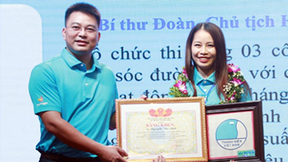 Nguyễn Thị Anh, Bí thư Đoàn cơ sở nhiệt huyết