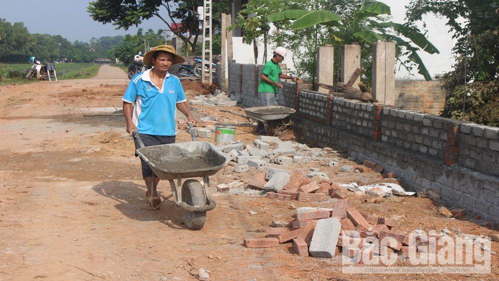 dân vận khéo, Tân Yên, Dân Vận, nông thôn mới