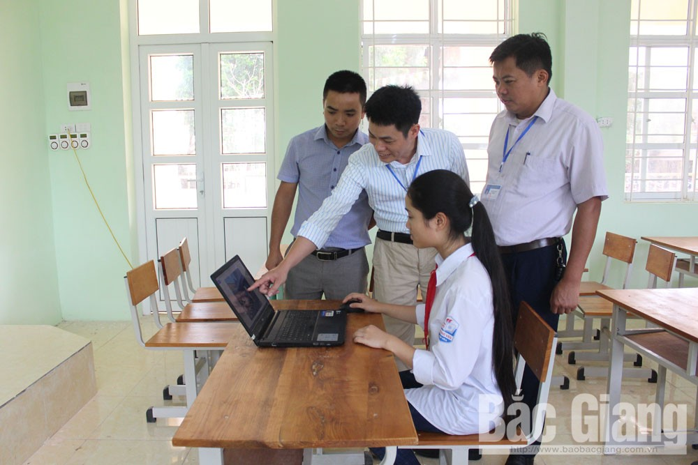 Hiep Hoa district, Bac Giang province, high educational quality, emulation movement,  scientific and technological initiatives, provincial-level contest, passion for creativity