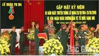 Lữ đoàn Pháo binh 164 đón nhận Huân chương Bảo vệ Tổ quốc hạng Nhì