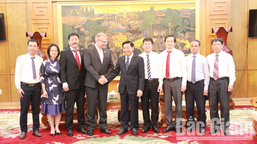 Strengthening cooperation between Bac Giang province and Polish Investment & Trade Agency