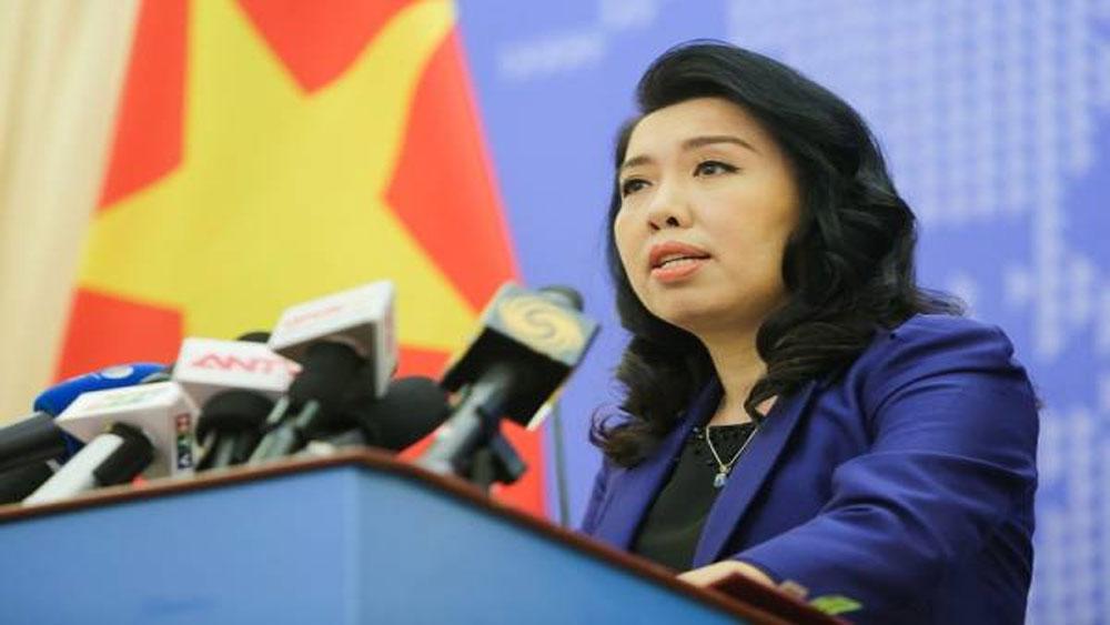 Người Phát ngôn Bộ Ngoại giao, yêu cầu, tôn trọng, chủ quyền Việt Nam, không tái diễn vi phạm