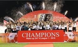 Bảng xếp hạng chung cuộc V-League 2019: Hà Nội FC vô địch, Khánh Hòa xuống hạng