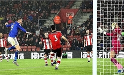 Leicester thắng 9-0 trên sân Southampton