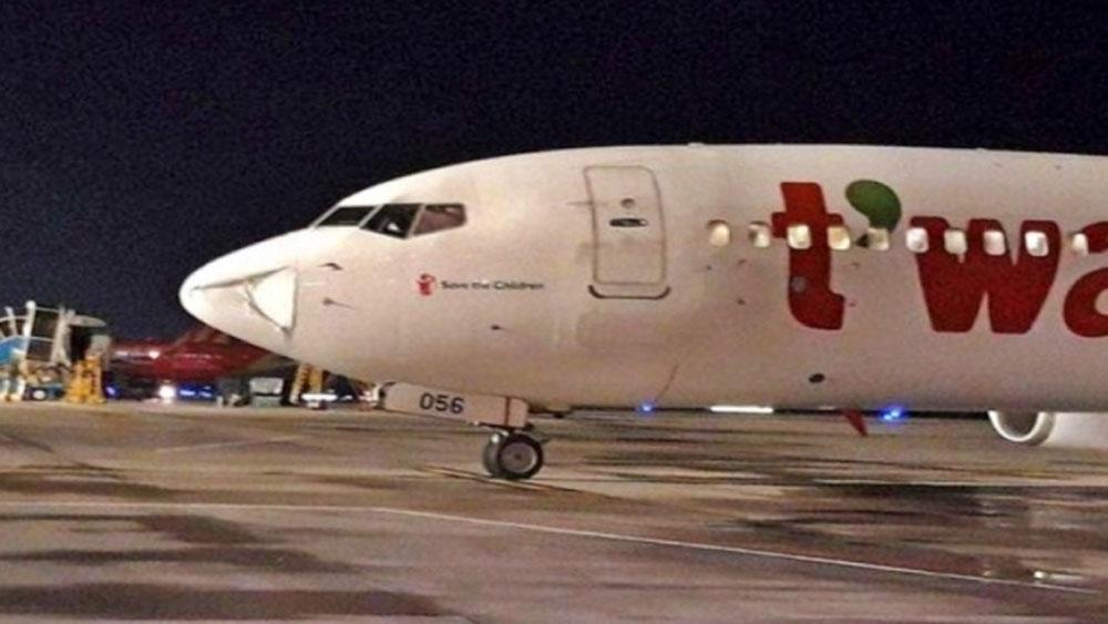 Báo cáo, Ủy ban An ninh hàng không, vụ tàu bay, bị va chạm, móp đầu, tàu bay Airbus A321-271N,