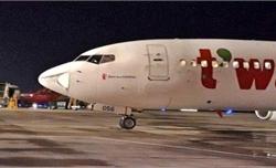 Báo cáo Ủy ban An ninh hàng không vụ tàu bay bị va chạm, móp đầu