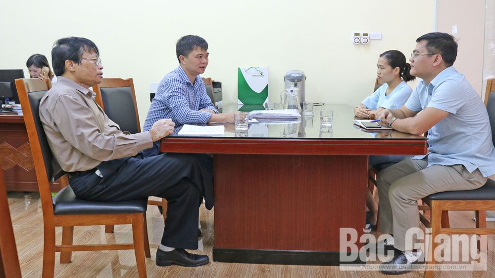 Bac Giang supports enterprises to capture information and develop sustainably
