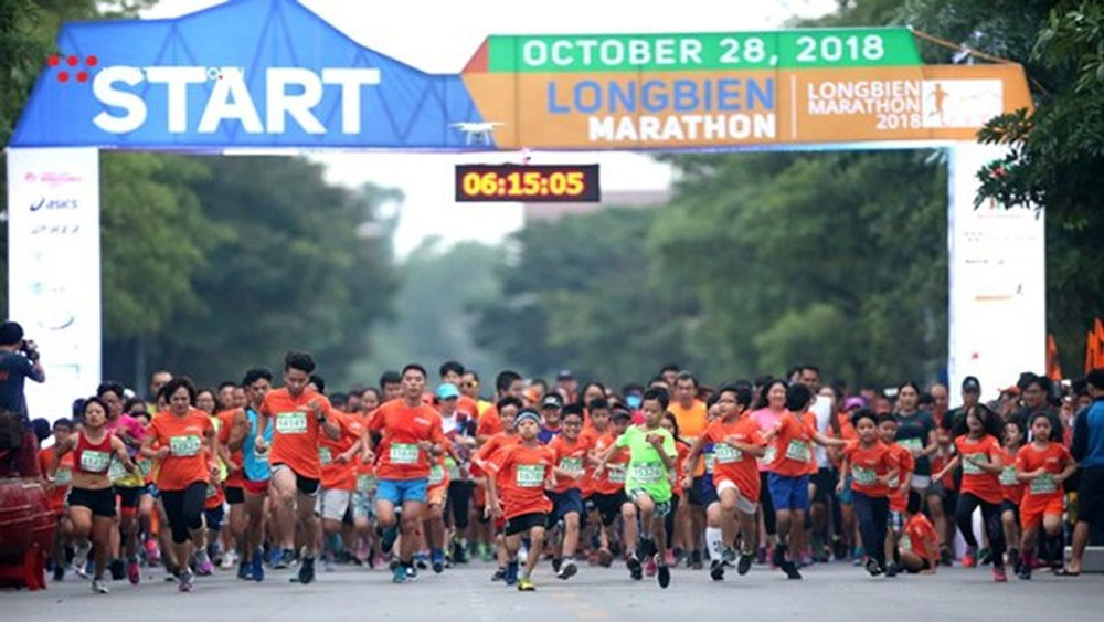 6,000 athletes, Longbien Marathon, Run Home, rare events, Association of International Marathons, Distance Races