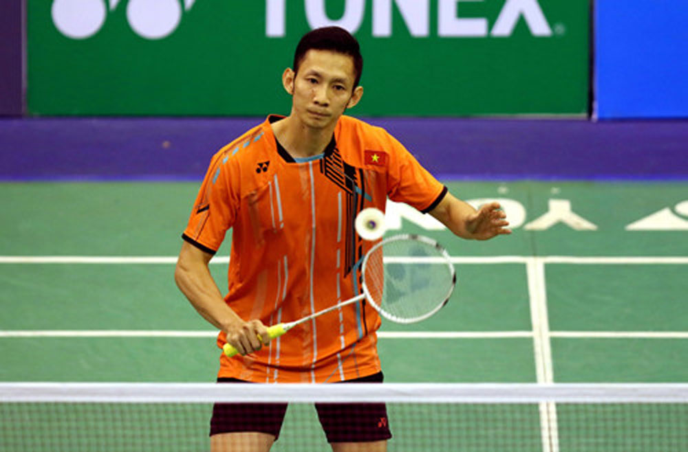 Vietnamese badminton, Tien Minh, Vu Thi Trang, SEA Games 30, Bac Giang province, sport competing career, medal target,