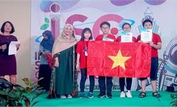 Đoàn học sinh Việt Nam giành 4 Huy chương Vàng tại kỳ thi Khoa học Quốc tế ISC năm 2019
