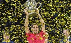 Federer lần thứ 10 vô địch ATP Basel