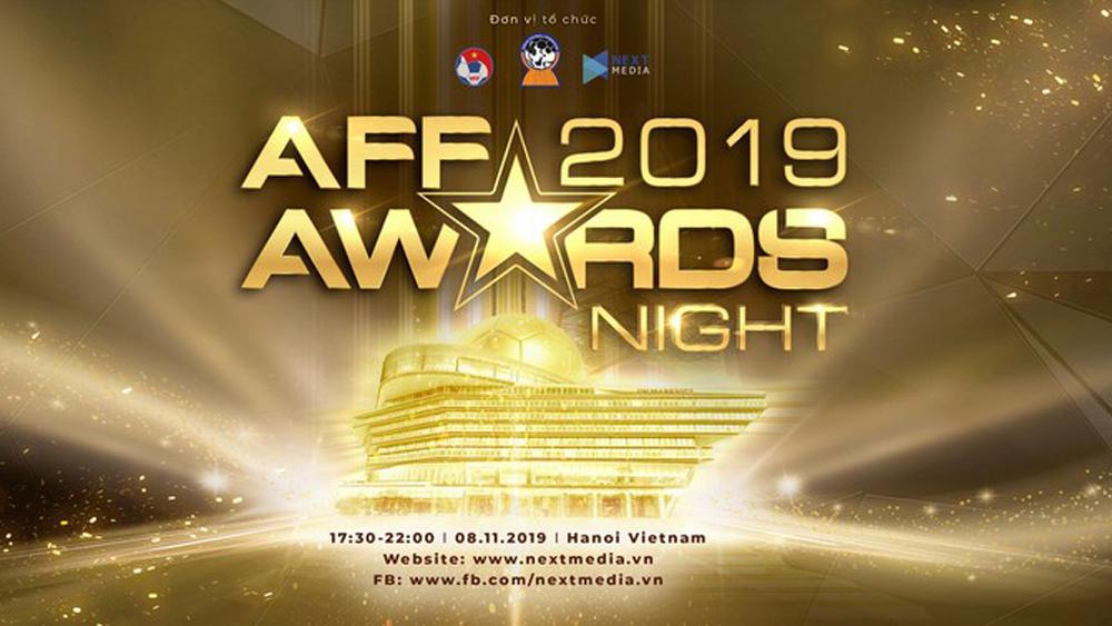 AFF Award Night 2019, AFF Award Night, bóng đá việt nam, bóng đá đông nam á, AFF
