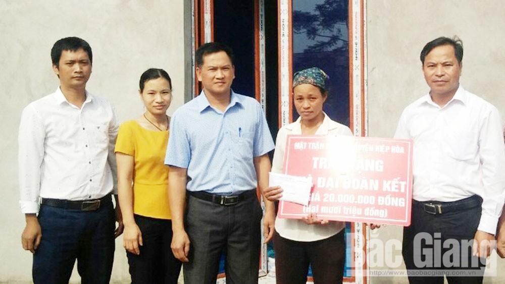 Bắc Giang, Hiệp Hòa, an sinh xã hội, vì người nghèo