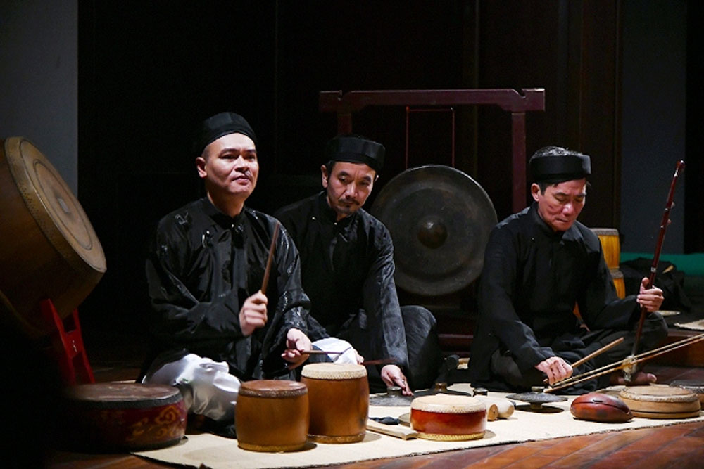Programme, traditional art forms, Hanoi capital, Dong Kinh Co Nhac, Ancient Music Group of Tonkin, Cultural Exchange Centre