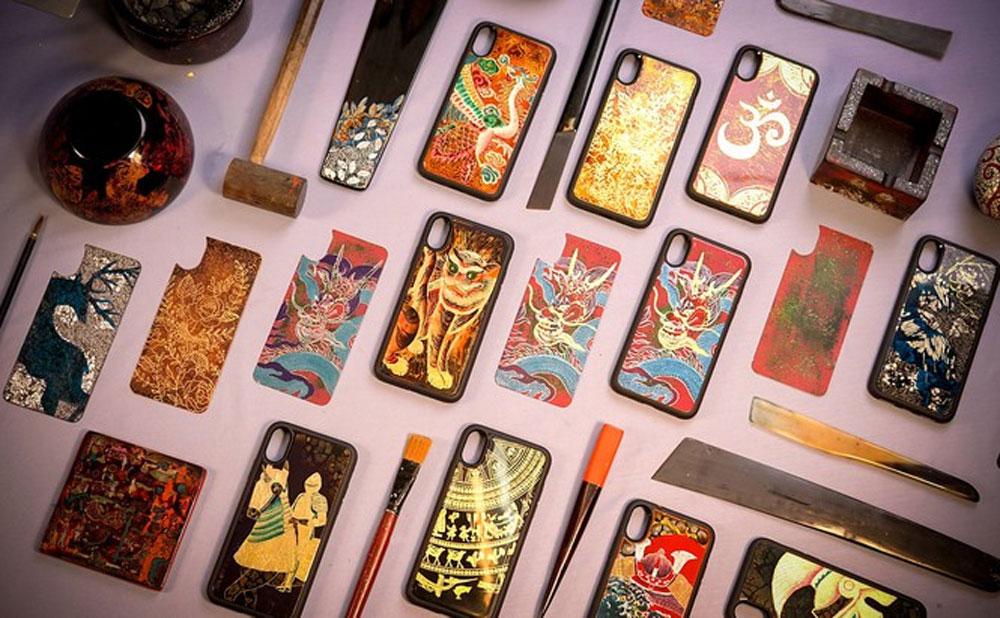 Young people, Vietnam's lacquer art, La Sonmai group,  Vietnamese lacquer,  consumable products, ancestors' cultural heritage