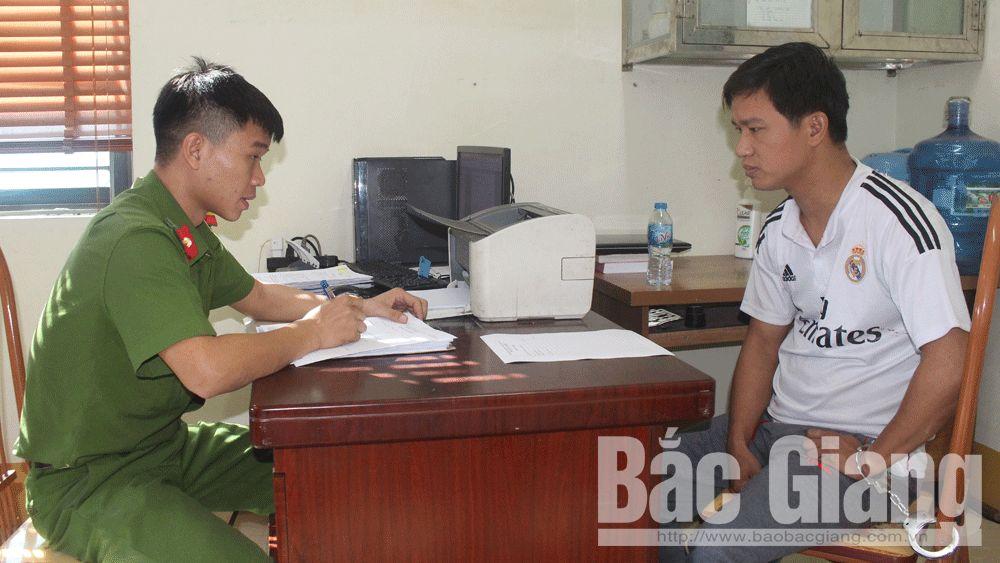 trộm cắp tài sản; Công an huyện Hiệp Hòa: đột nhập, trộm điện thoại