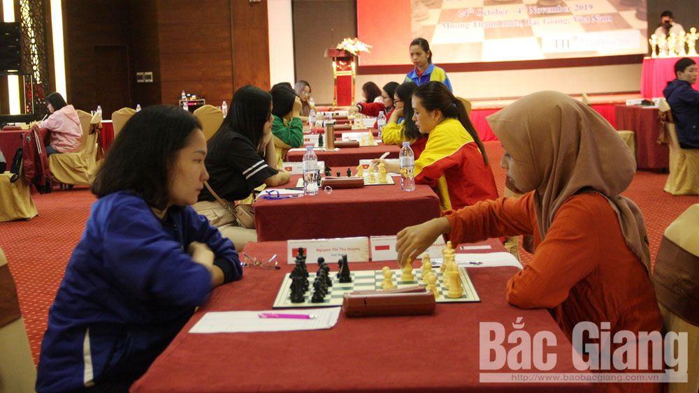 Southeast Asia, chess championship 2019, Bac Giang province, Vietnam Chess Federation, competition achievement