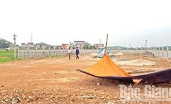 Xã Trung Sơn (Việt Yên): Chưa được cấp phép xây dựng, doanh nghiệp đã đổ đất, san nền làm cây xăng