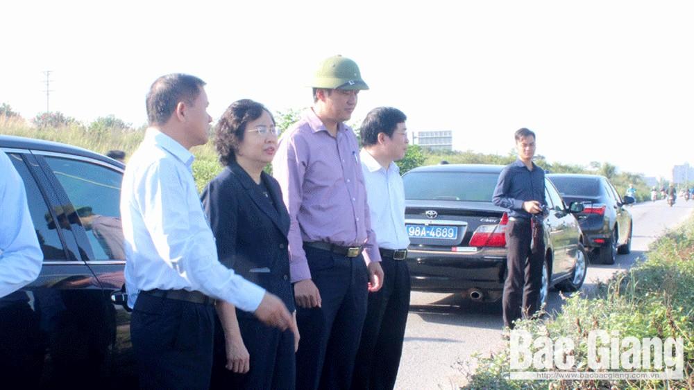 Việt Yên, giải phóng mặt bằng, khu đô thị