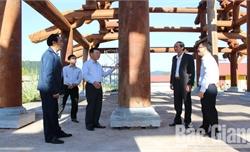 Tập trung cao công tác giải phóng mặt bằng và chuẩn bị tốt Lễ khai hội Tây Yên Tử