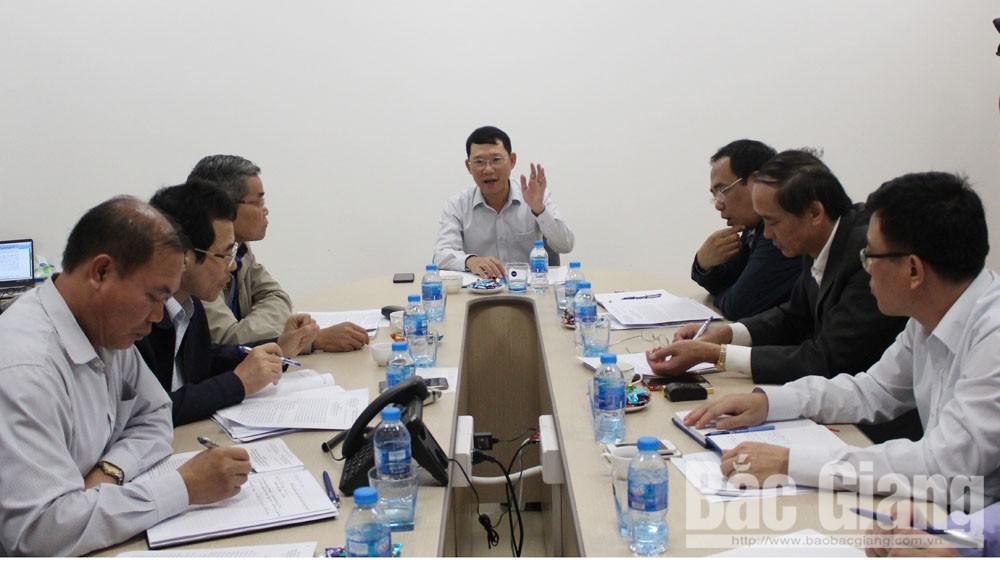 Dự án, Khu tâm linh-sinh thái, Khai hội xuân Tây Yên Tử, Phó Chủ tịch UBND tỉnh Lê Ánh Dương