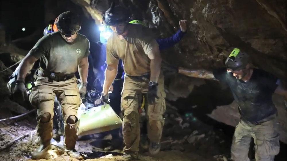 Thái Lan khai thác du lịch hang Tham Luang