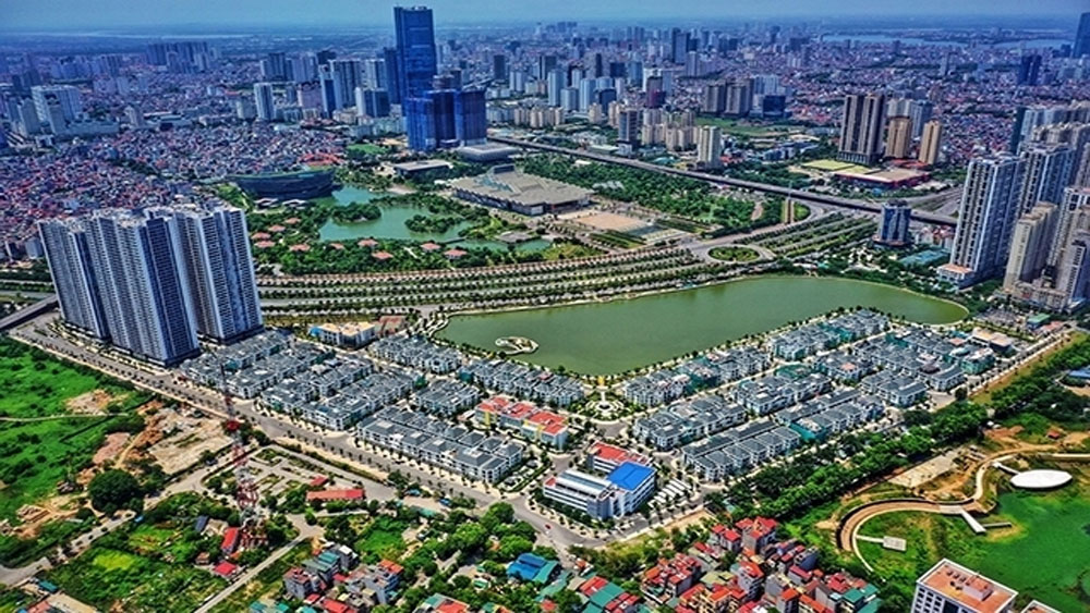Đến năm 2025 Hà Nội, có thêm năm quận, Gia Lâm, Đông Anh, Thanh Trì, Đan Phượng
