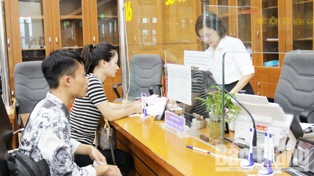 Bắc Giang, phiếu lý lịch tư pháp, trực tuyến, thủ tục hành chính, công dân, tổ chức