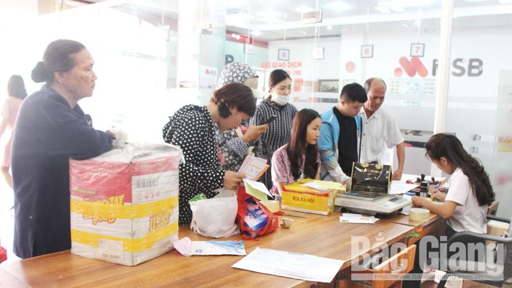 Bắc Giang, dịch vụ chuyển phát, thương mại điện tử