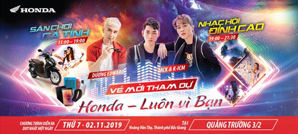 HONDA, chính thức khởi động, Thành phố Bắc Giang, hoạt động hấp dẫn