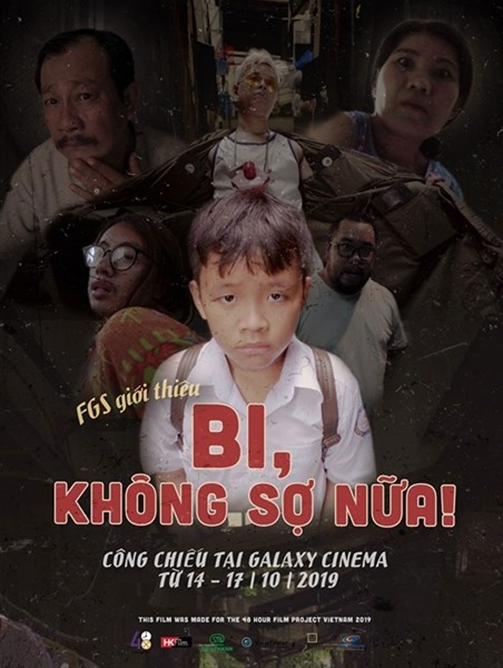 Short Vietnamese film, Netherlands, Bi, Khong So Nua, Bi, No More Fear, video production,  highest prize, 48 Hour Film Project Vietnam