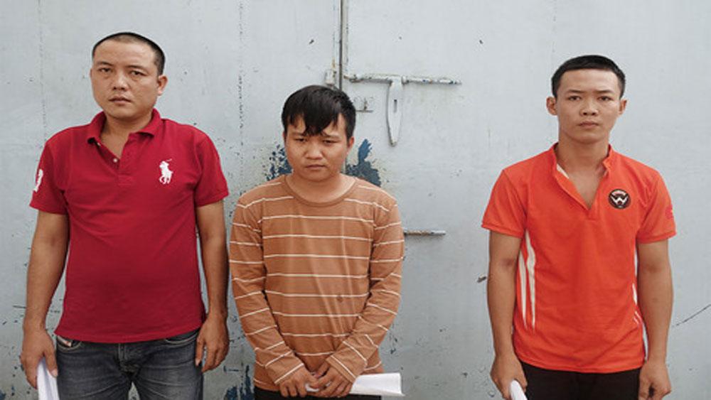 Phát hiện, nhóm đối tượng, làm và lưu hành tiền giả, An Giang, đối tượng Trần Minh Trí, Châu Anh Phụng , Võ Minh Quang